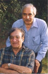 Khalid Hasan and Ahmed Faraz